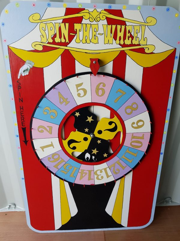 WHEEL OF FORTUNR SIDE STALL